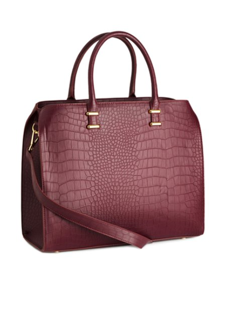 H&M Moc Croc Handbag