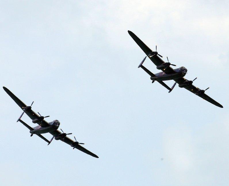 Lancaster Bombers PA/Gareth Fuller