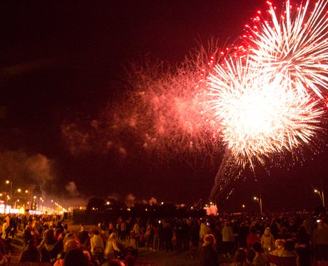 Great Yarmouth Free Fireworks 2014 Wk:6