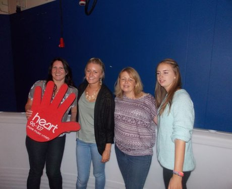 Heart Angels: BIC Roller Rink (25th August)