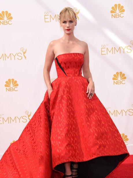 January Jones at Primetime Emmy Awards 2014