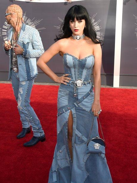 Katy Perry MTV VMAs 2014 Red Carpet