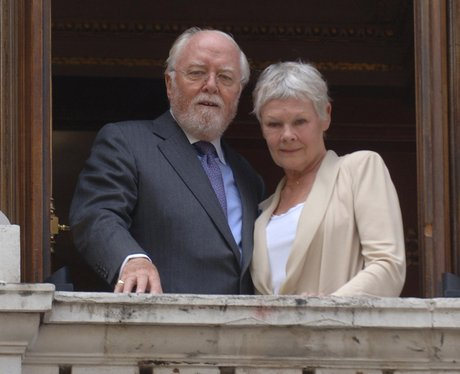Lord Richard Attenborough and Dame Judi Dench