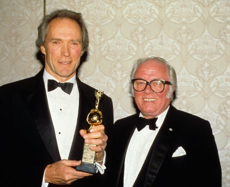 Lord Richard Attenborough with Clint Eastwood