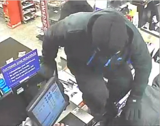 One Stop Ashmore Road Robbery CCTV