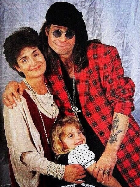 Kelly, Sharon and Ozzy Osbourne