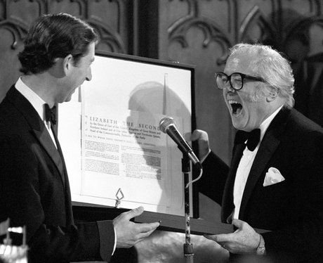 Prince Charles with Richard Attenborough