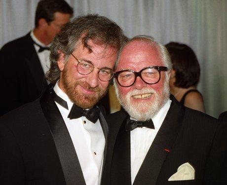Steven Spielberg with Richard Attenborough