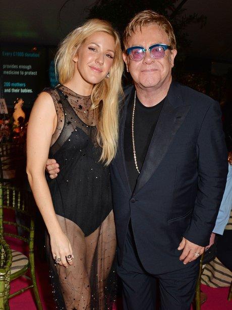 Ellie Goulding and Sir Elton John