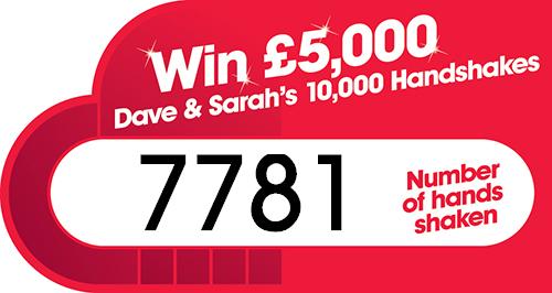 Dave and Sarah's 10000 Handshakes 10000