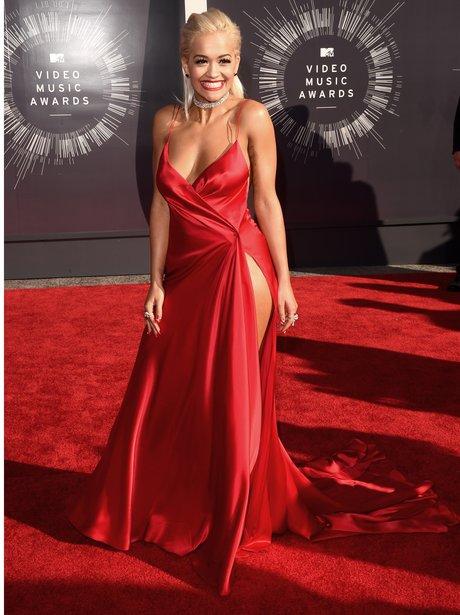 Rita Ora red carpet