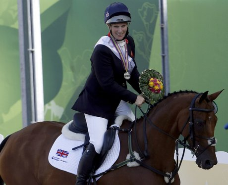 Zara Phillips 2014 World Equestrian Games