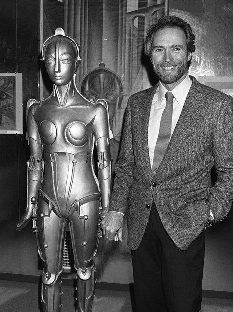 Clint Eastwood and Metropolis figure
