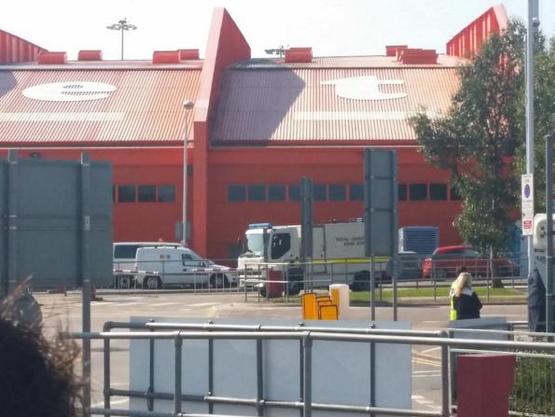 Luton Airport Evacuation