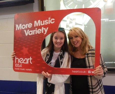 Heart FM at Kylie Minogue - Manchester