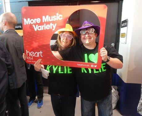 Heart FM at Kylie Minogue - Manchester