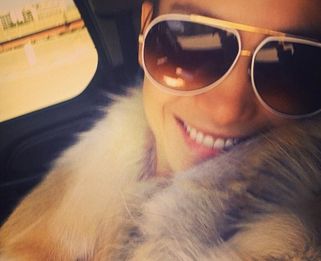 Jennifer Lopez with aviators Instagram