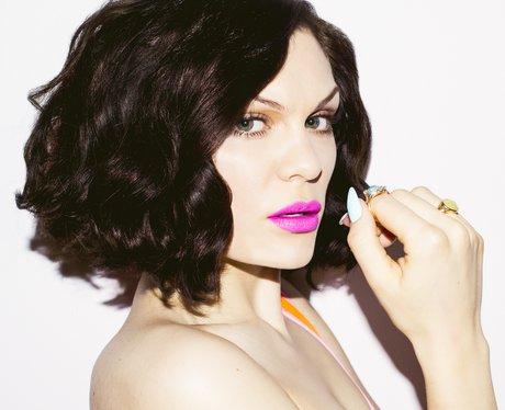 Jessie J Blunt Corkscrew Curls Most Iconic Short Celebrity Haircuts Heart
