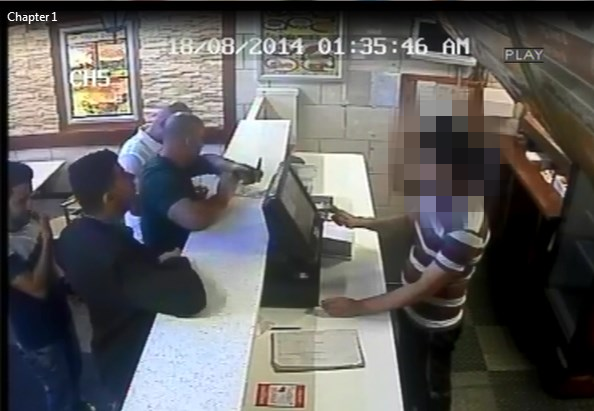 Southend assault CCTV images