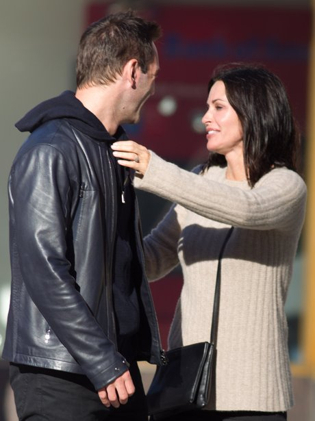 Courteney Cox and Johnny McDaid married