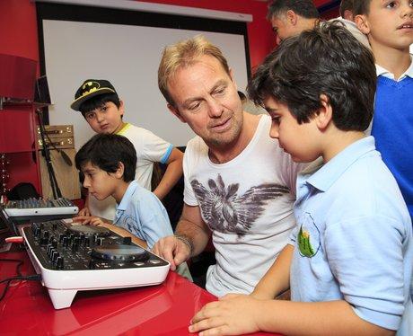 Jason Donovan at the charity