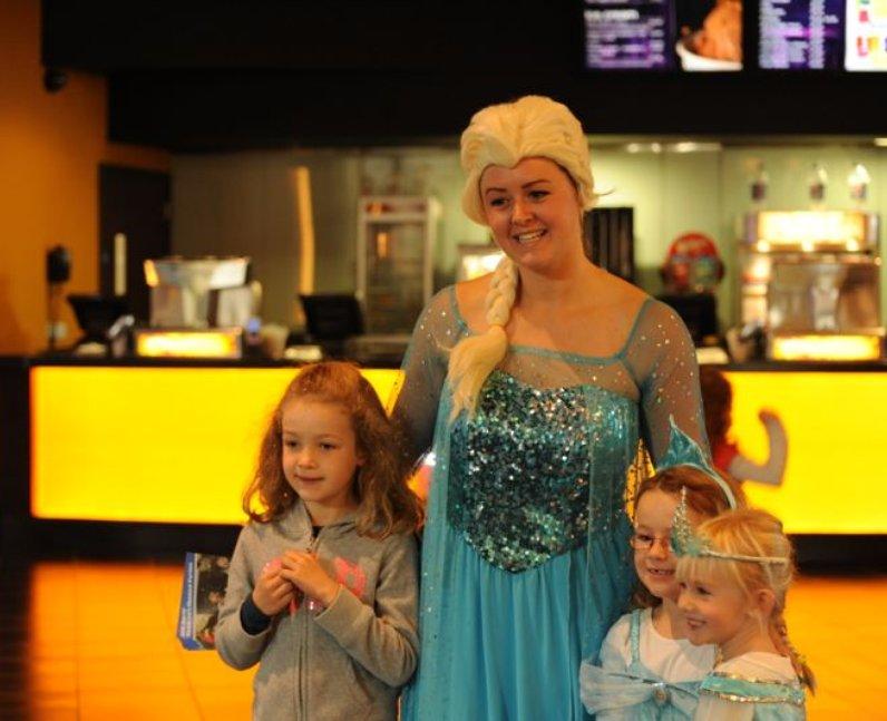 Make Some Noise: Frozen Screening Bristol (Oct 201