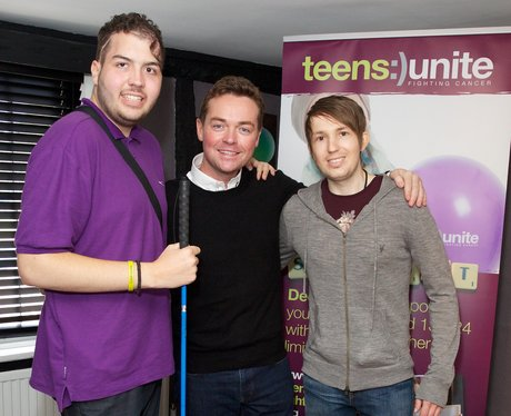 Stephen Mulhern at the charity