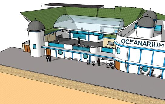 Bournemouth Oceanarium expansion artist impression