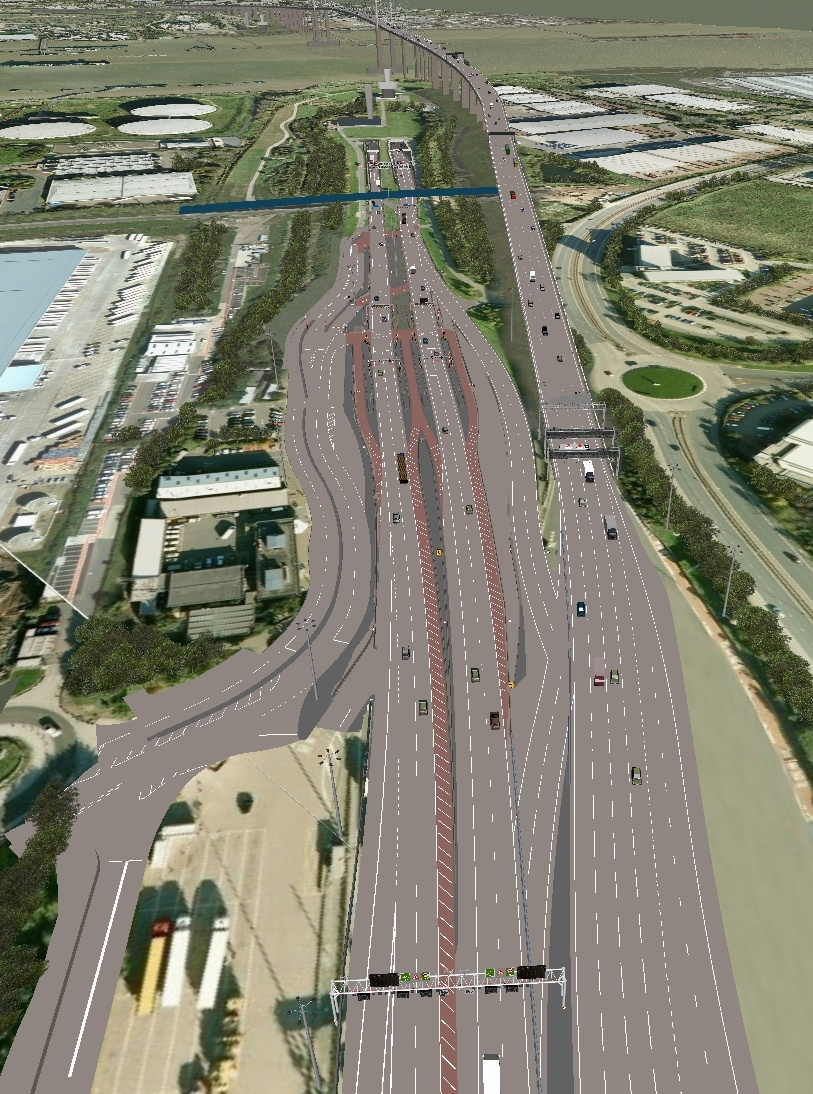Dartford River Crossing Without Tolls