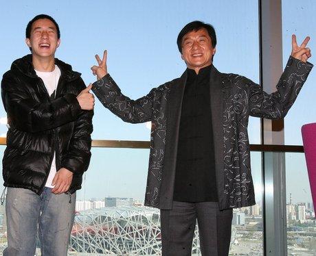 Jackie Chan and Jaycee Chan