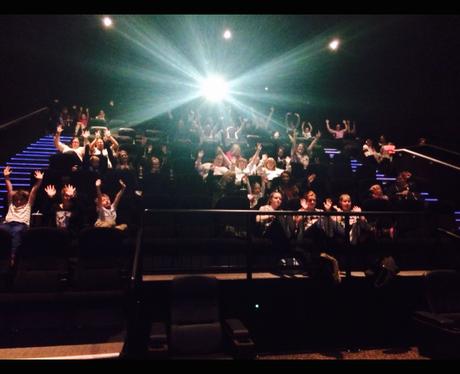 1D charity screening pics