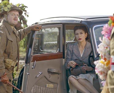 Catherine Zeta-Jones as Rose Winters in 'Dad's Army'.