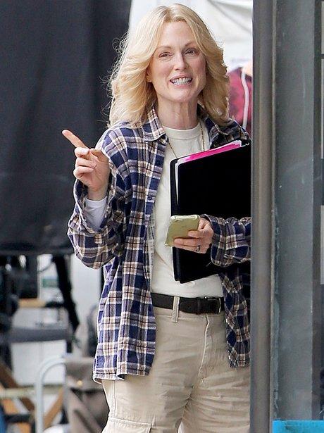 Julianne Moore with blonde hair