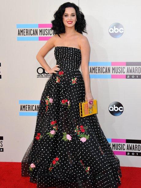 Katy Perry In Oscar De La Renta