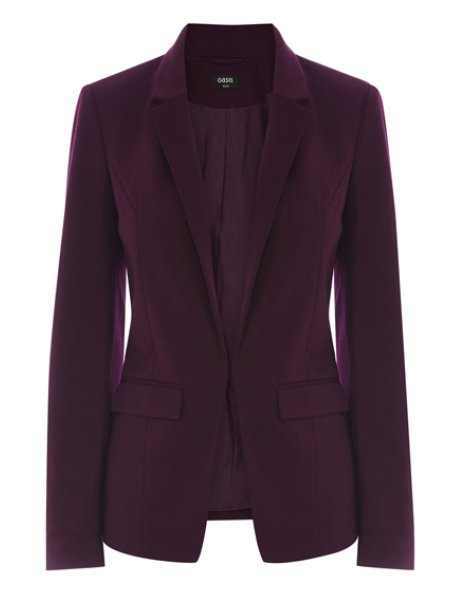 Oasis Ponte Jacket, £40