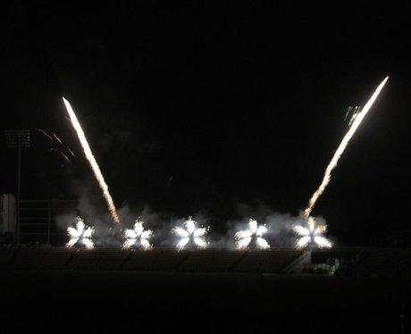 Ageas Bowl Fireworks 2014