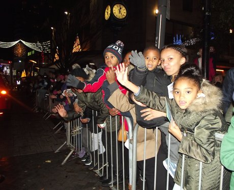 Birmingham's Christmas Parade 2014: The Procession