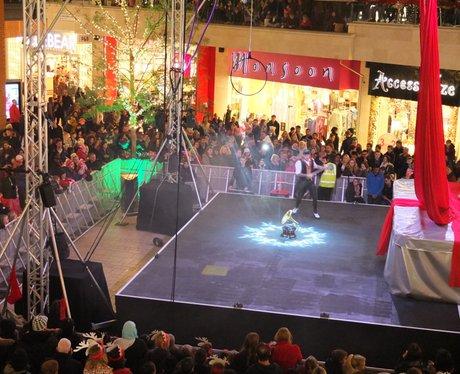 Cabot Circus Christmas Lights 2014