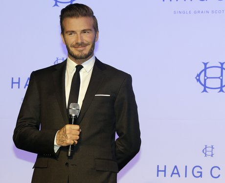 David Beckham in tux