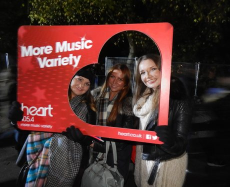Heart Angels at Sefton Park & Newsham Park Bonfire