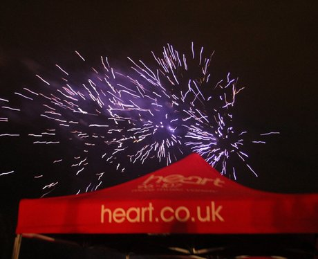 Heart Angels: Cirencester Fireworks (November 1st