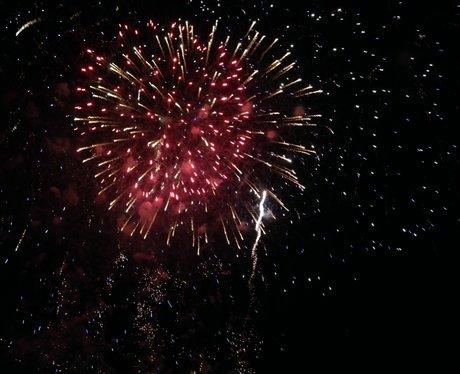 Met Police Bushey Sports Club Fireworks!