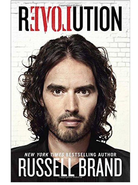 Book Cover Biography : Russell brand revolution biography cover the best
