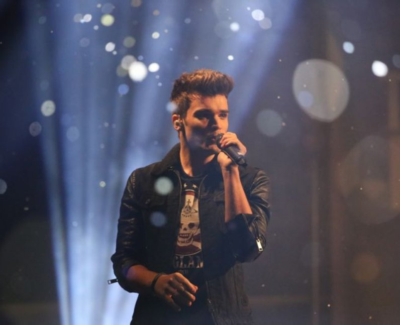 Heart Angels: Union J at The Mall Christmas Lights