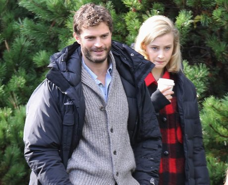Jamie Dorman On Set 'The 9th Life of Louis Drax