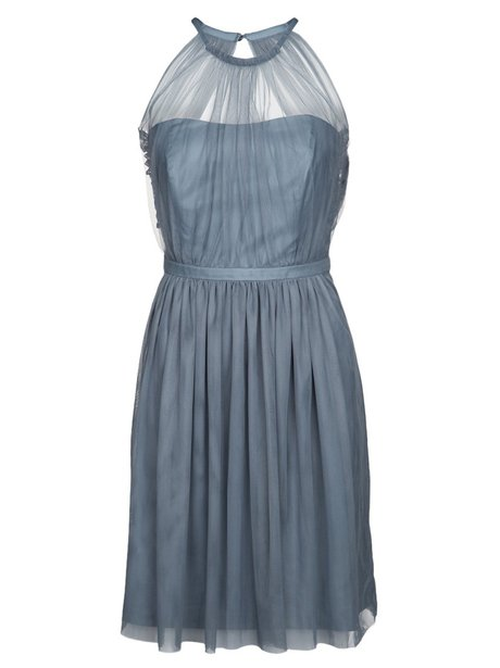 silver cocktail dress