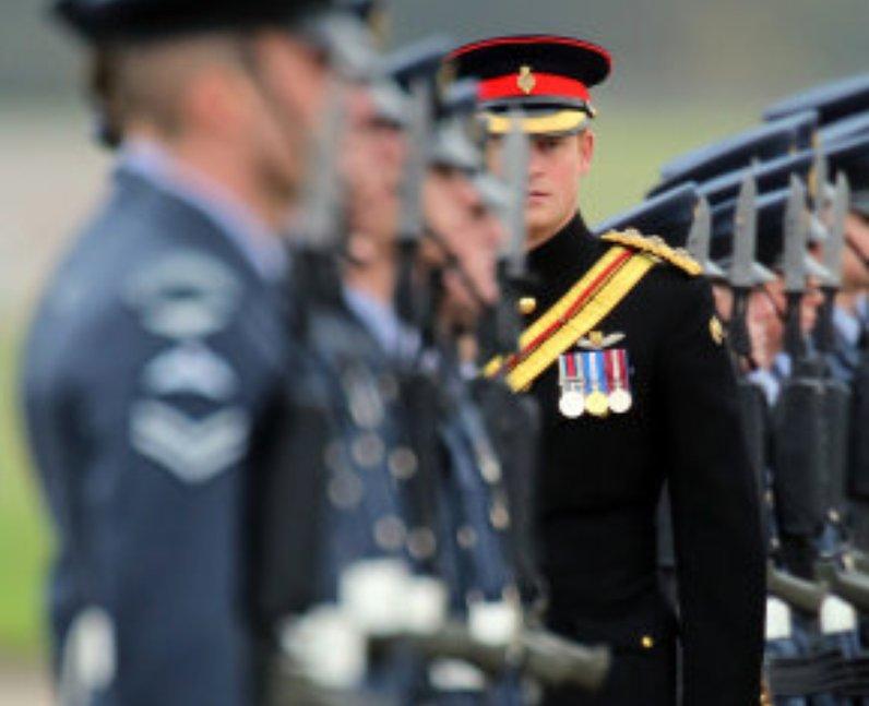 Prince Harry RAF Honington