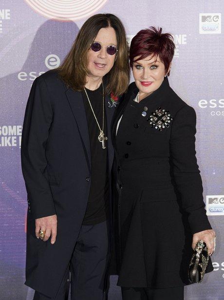 Sharon and Ozzy Osbourne MTV EMAs 2014 Arrivals