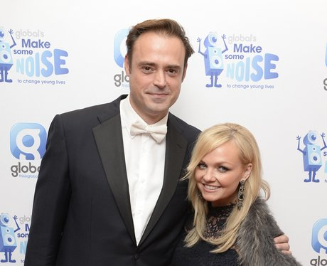 Jamie Theakson and Emma Bunton at Globals 'Make So
