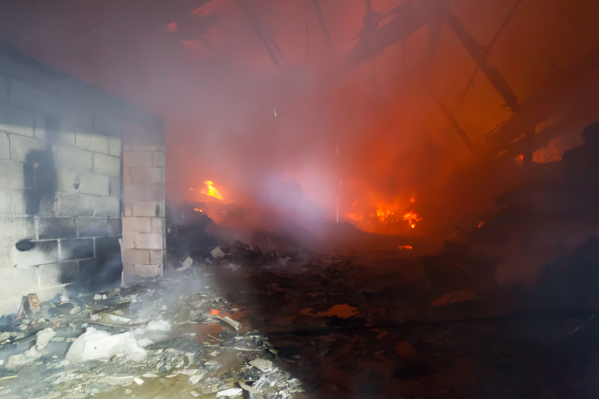 Industrial estate fire in bilston